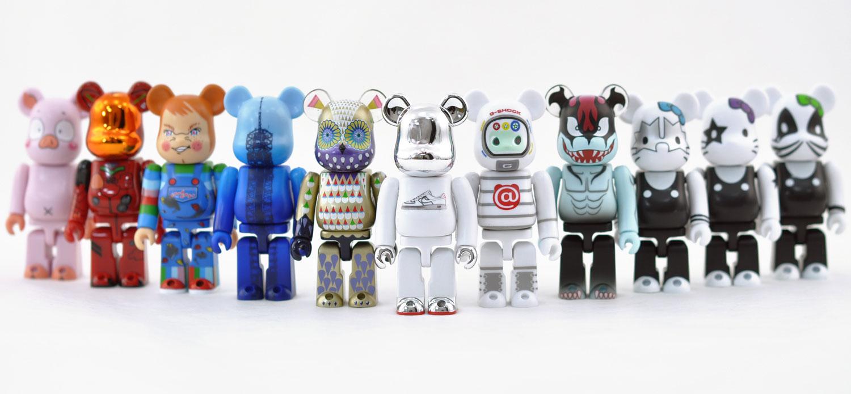 Bearbrick Art Toys Colección