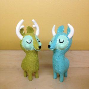 Art Toy de Horrible Adorables Curious Critter