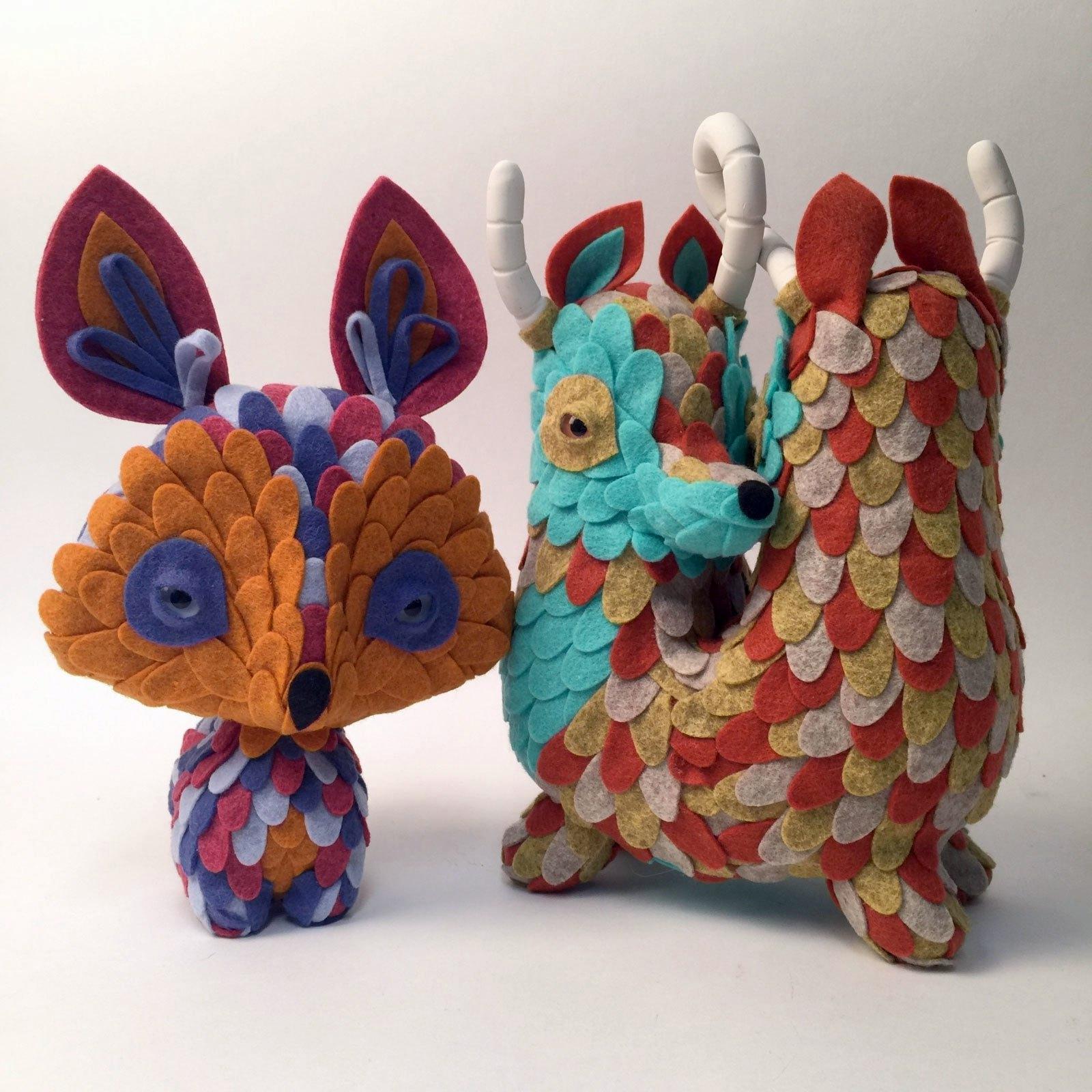 Art Toys de Horrible Adorables en Vinilo