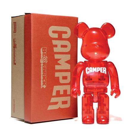 bearbrick Art Toy Camper