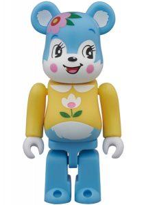 Art Toy Bearbrick Cute Oso con Flor
