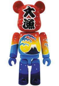 Bearbrick Art Toy con diseño dela Bandera Tairyou