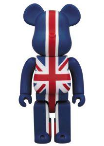 Bearbrick Art Toy Bandera de Inglaterra