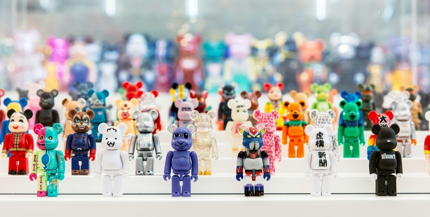 Coleccion de Art Toys Bearbrick
