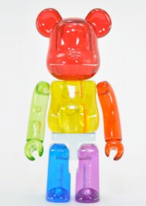 Art Toy Bearbrick Jellybean Multicolor