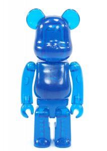 Art Toy Bearbrick Jellybean Azul