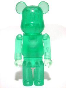 Art Toy Bearbrick Jellybean Verde
