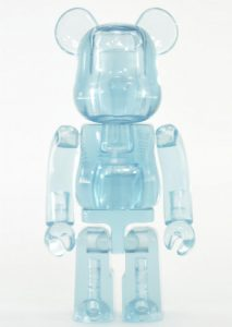 Art Toy Bearbrick Jellybean Azul Claro