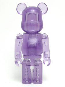 Art Toy Bearbrick Jellybean Lila