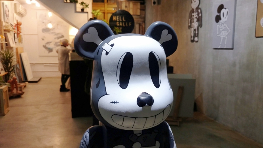 Art Toy Cote Escriva Bearbrick