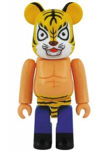 Bearbrick Art Toy Tiger Mask