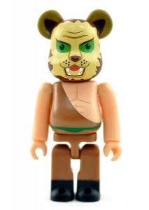 Bearbrick Art Toy Tiger Mask Secret