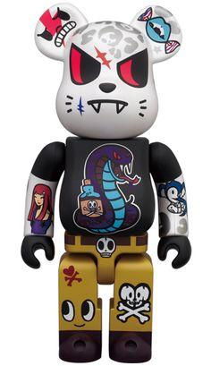 Bearbrick Art Toy Tokidoki