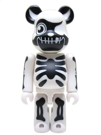 Bearbrick Art Toy Esqueleto