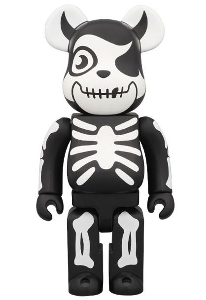 Bearbrick Art Toy Esqueleto Halloween