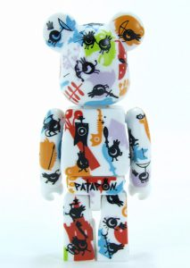 Bearbrick Art Toy Diseño Pattern Abstracto
