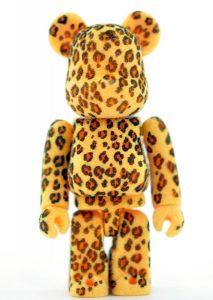 Bearbrick Art Toy Diseño Pattern Leopardo