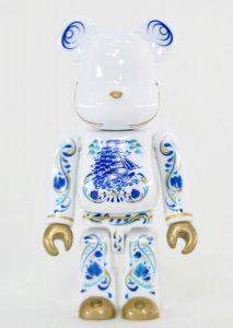 Bearbrick Art Toy Diseño Pattern de Cerámica