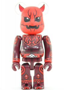 Bearbrick SF Art Toy Demonio