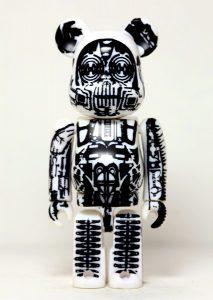 Bearbrick SF Art Toy Giger de Alien