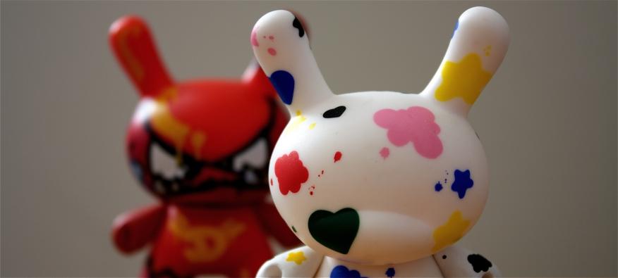 Art Toy Dunny de Mist y Tilt