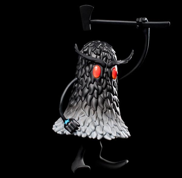 The Deek Art Toy de Kidrobot Black