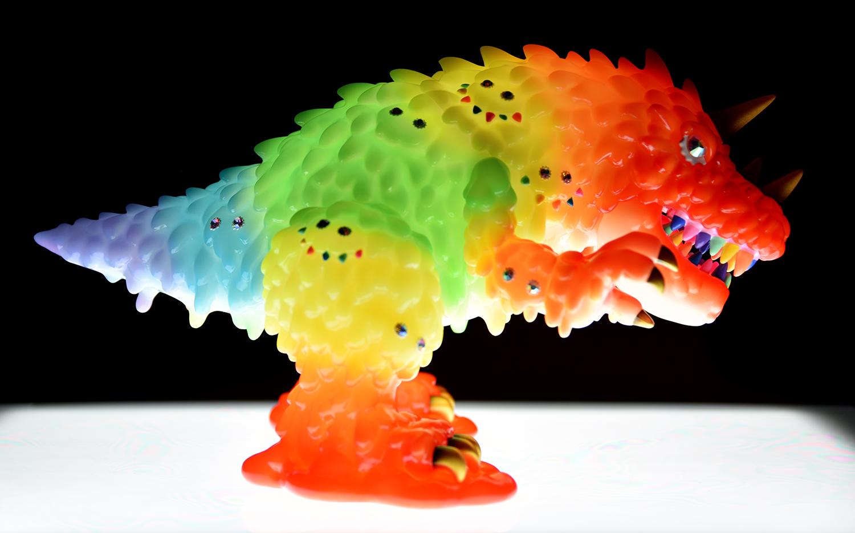 Sofubi Vincent (Dreamy Rainbow Vers.) de Hiroto Ohkubo