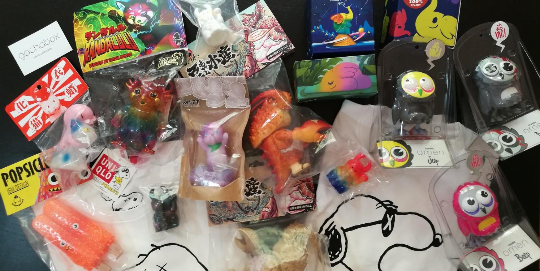 Nuestras Compras en Tailandia Art Toys