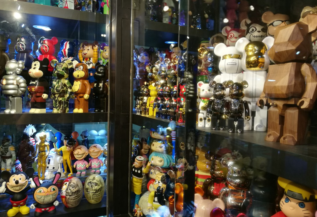Vinyl Nation Bearbricks Bangkok