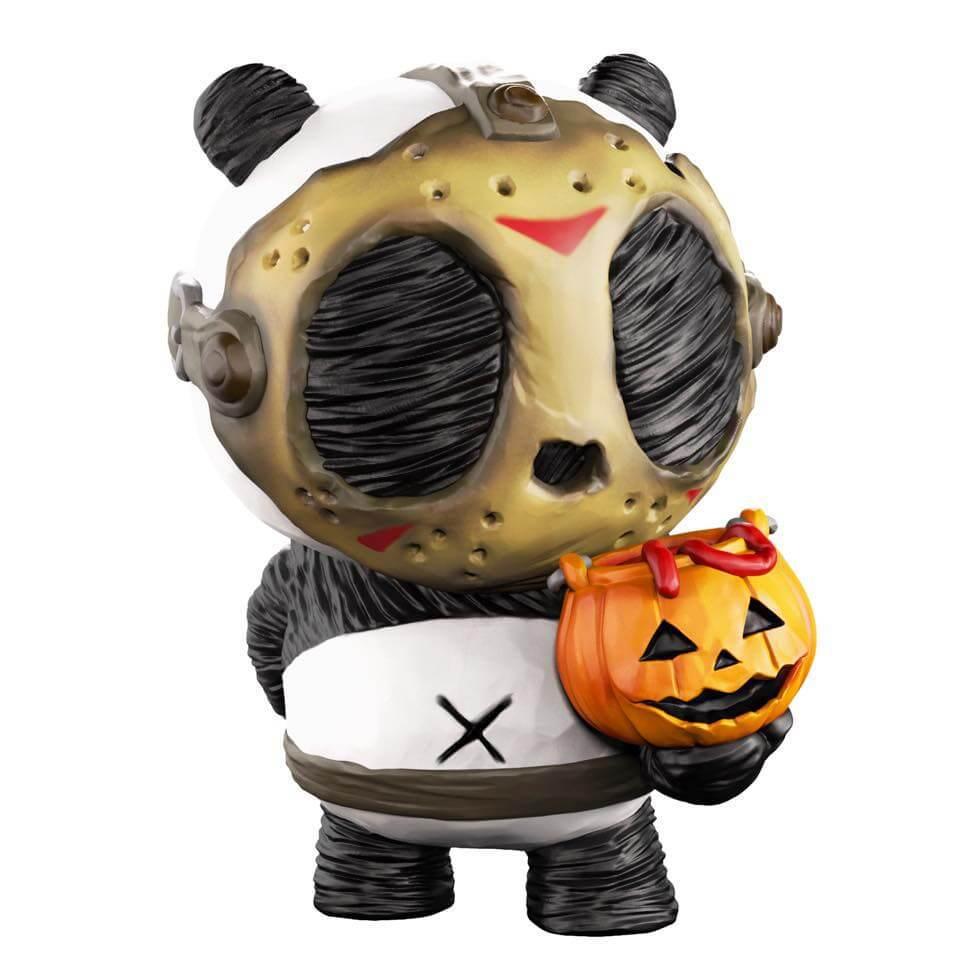 Panda-Ink-Trick Cacooca Halloween 2017 Art Toy