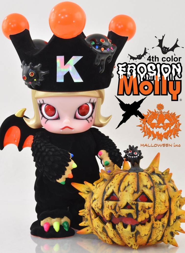 Halloween Molly Art Toy Instinctoy Halloween 2017