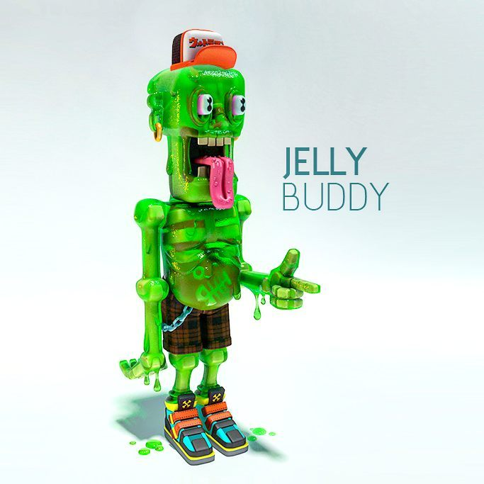 jelly buddy 6forest toys