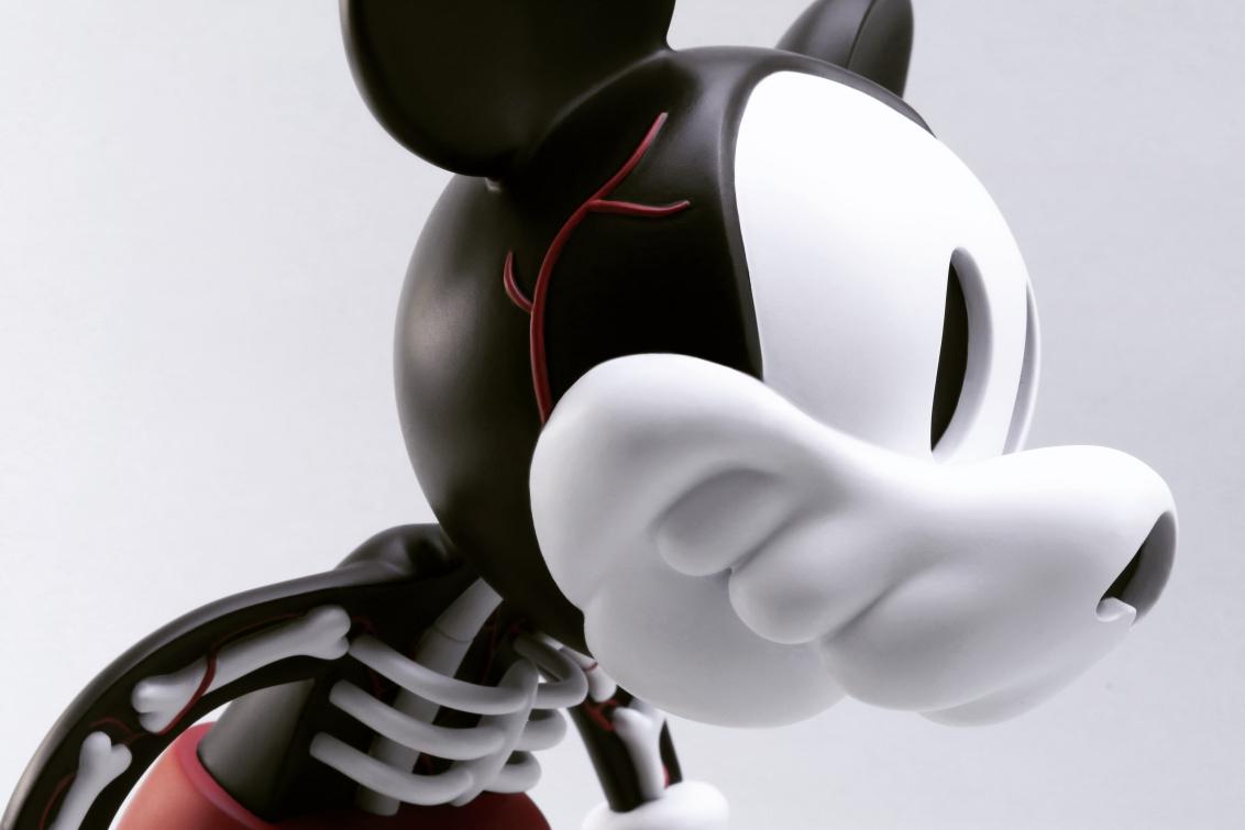 Cote Escriva Creepy Mouse Art Toy