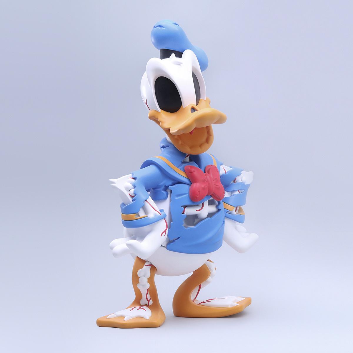 Cote Escriva Creepy Duck Thunder Mates Art Toy