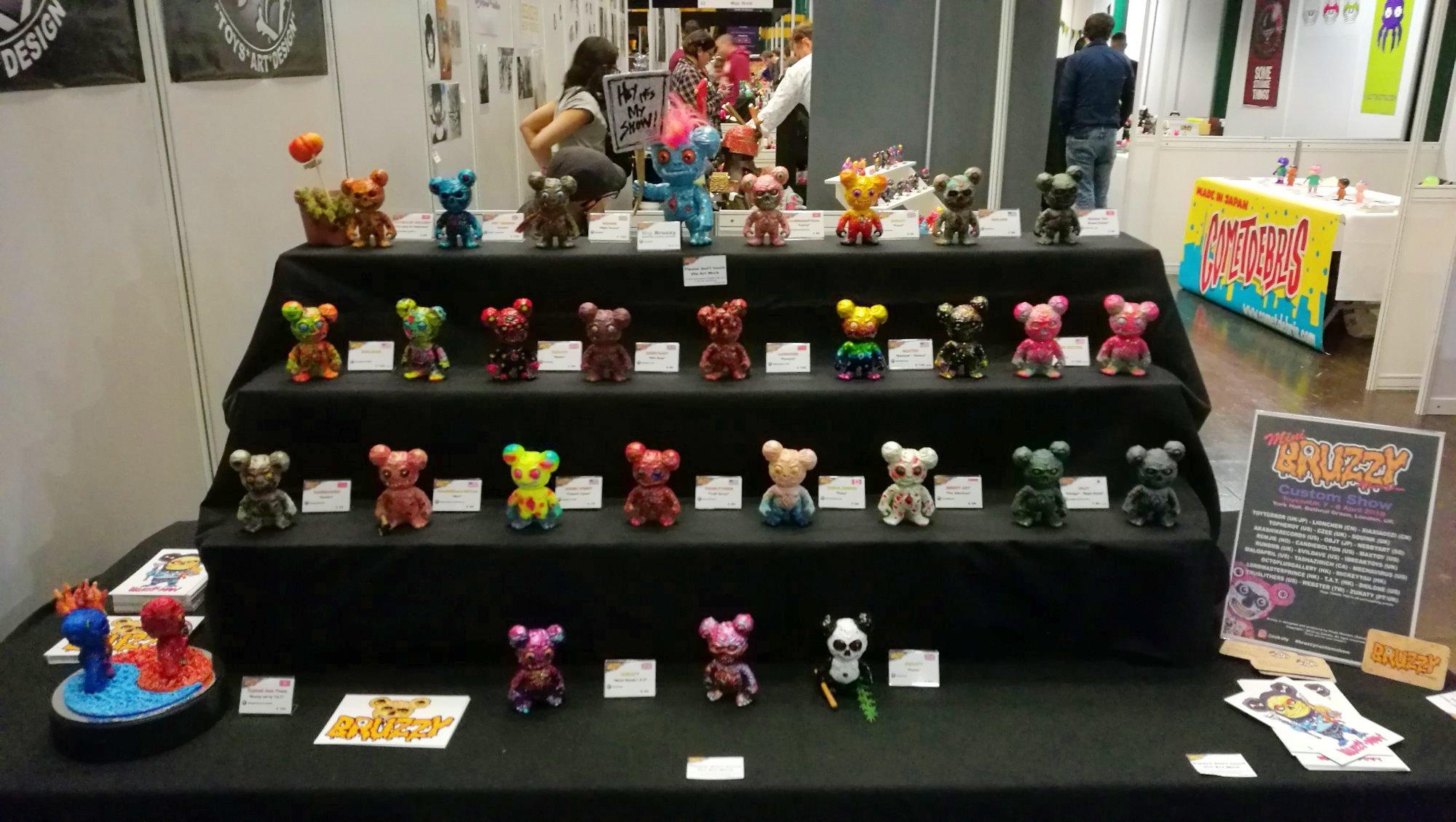 ToyCon Uk Bruzzy Custom Show 2018 Zonatoys