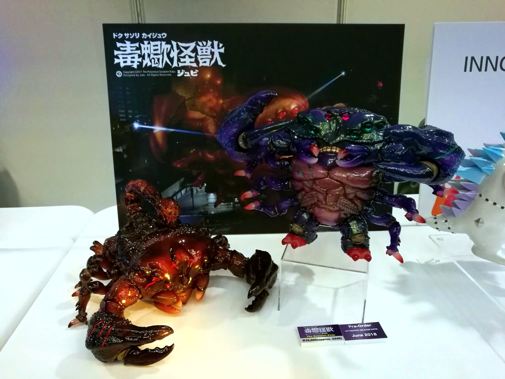 The Scorption Kaiju Instinctoy ToyCon Uk 2018