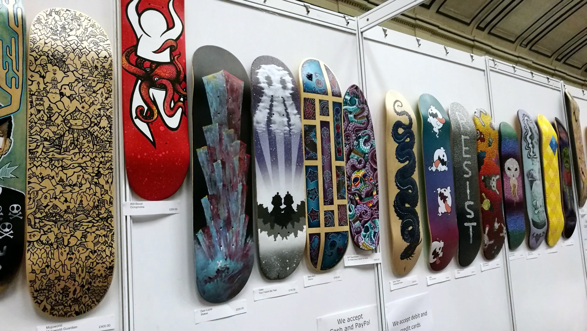 ToyConUK 2018 Skate Custom Show Zonatoys