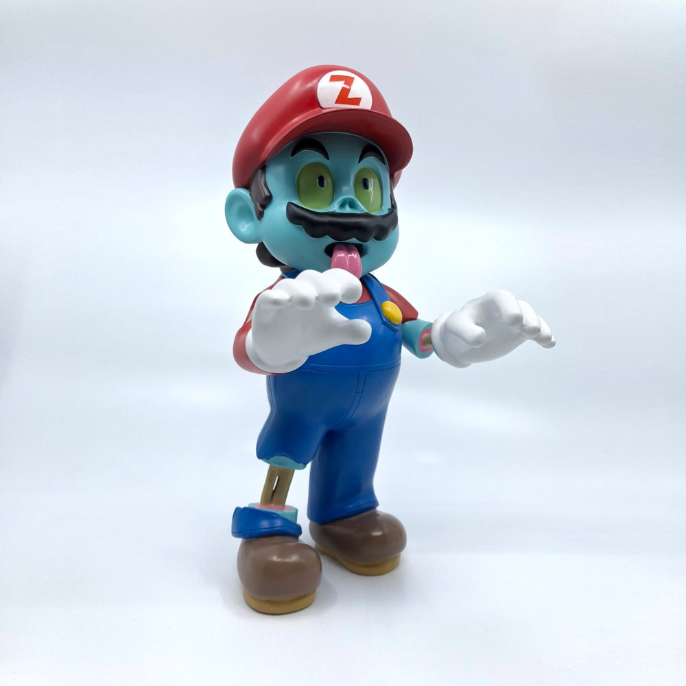 Zombie Mario Luaiso Lopez Pobber Toys Art Toy