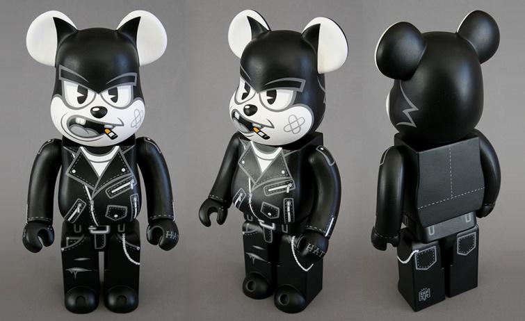 Fakirdesign Felix the Bad Cat Custom Bearbrick