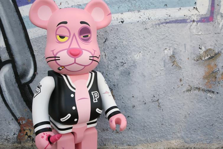 Fakirdesign Punk Panther Custom Bearbrick