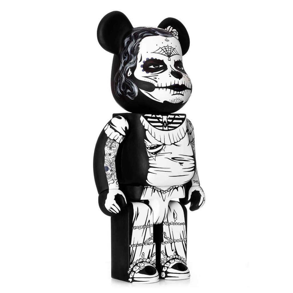 Jon Paul Kaiser Dia de los muertos Custom Bearbrick