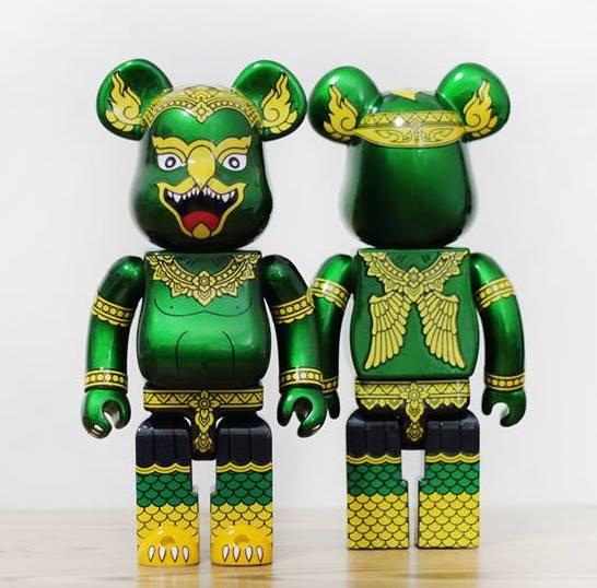 Khram Factory M Phankphoom Custom Bearbricks