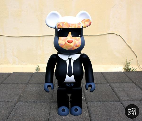Bearbrick Custom WuzOne Karl Lagerfeld