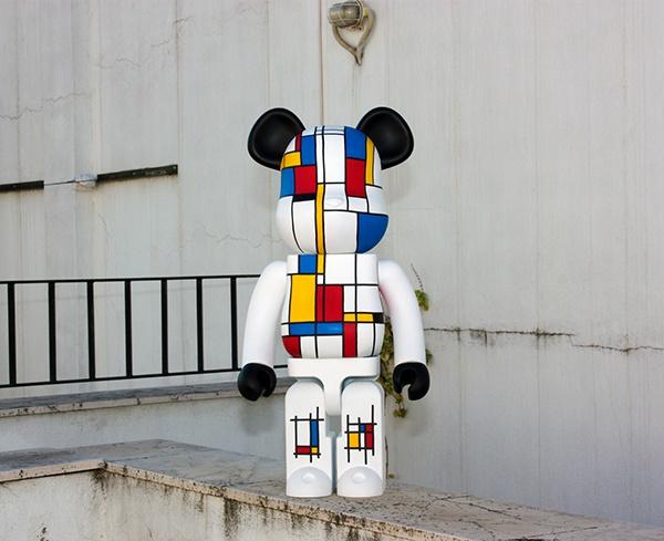 Bearbrick Custom WuzOne Mondrian