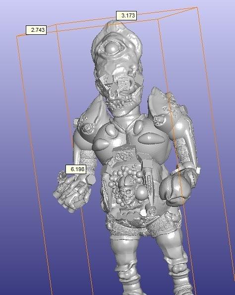 Gamushinutoys - Inquisitor 3D
