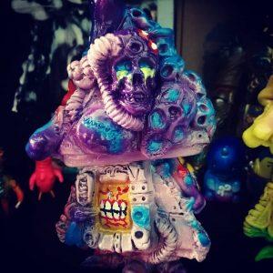 Gamushinutoys - Karakasa Art Toy Sofubi