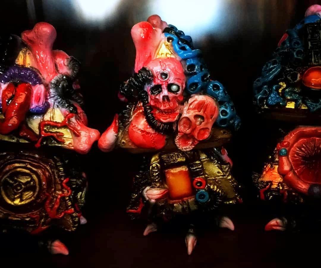 Gamushinutoys - Karakasa - Portada Art Toys