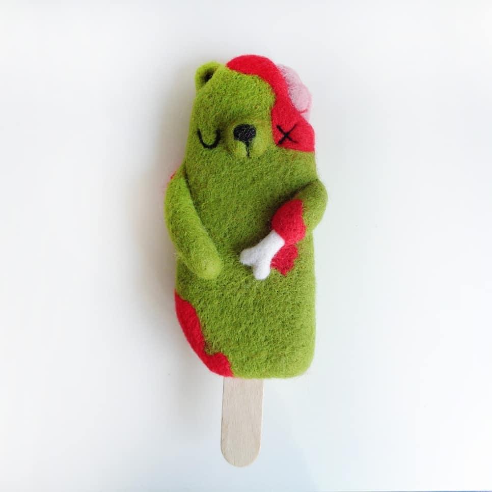 Droolwool - Popsicle Bear Zombie-min