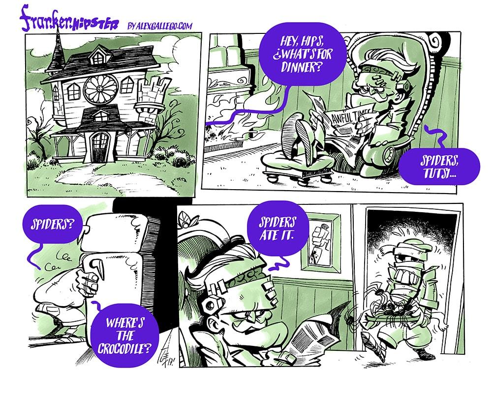Frankenhipster Story Alex Gallego