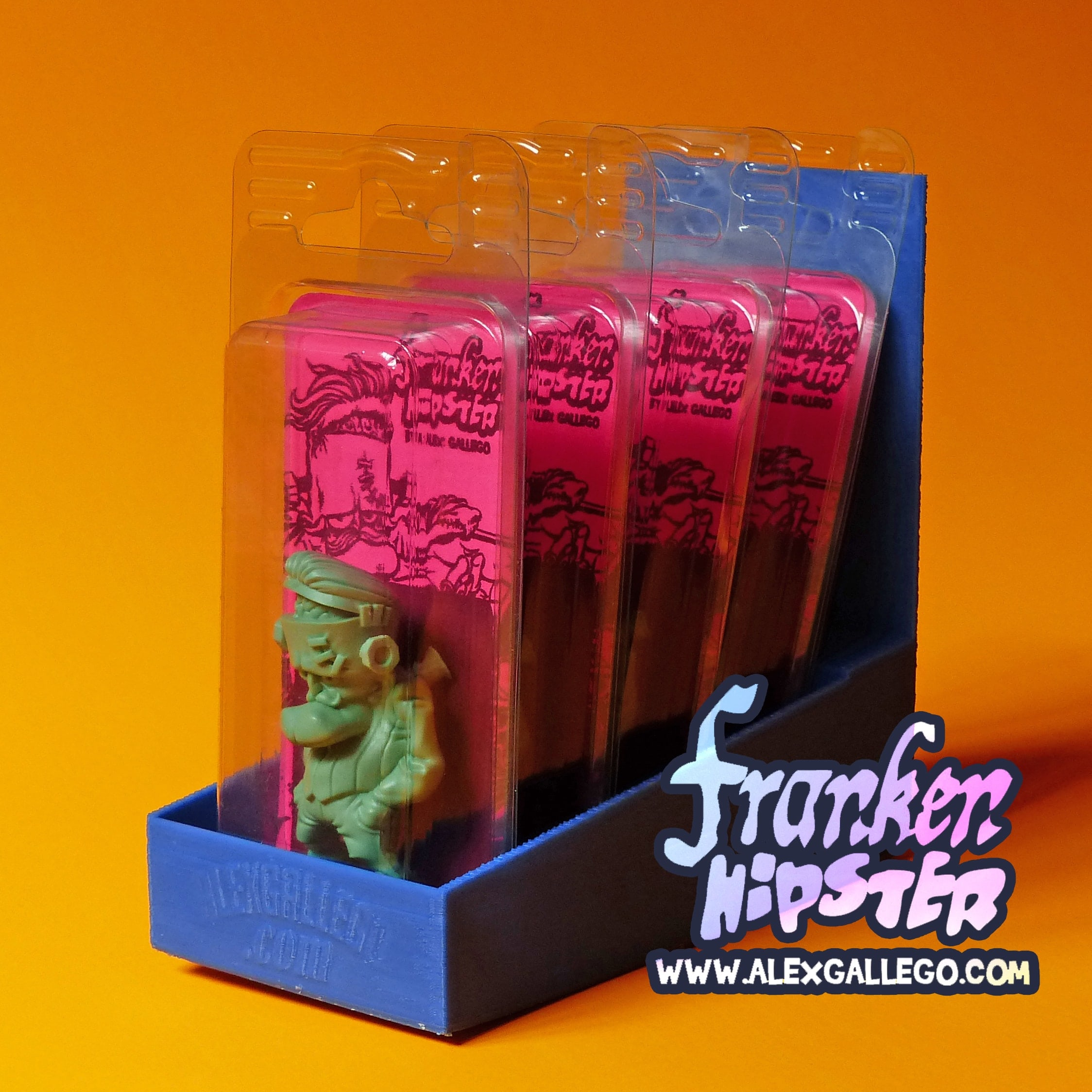 Frankenhipster Art Toy Resin Toy Alex Gallego